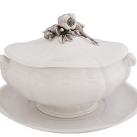 Garden Harvest Soup Tureen