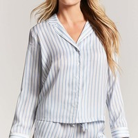 Striped Satin PJ Set