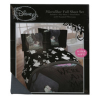 Disney Alice In Wonderland Microfiber Full Sheet Set