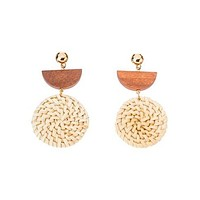 Knock On Wood Earrings
