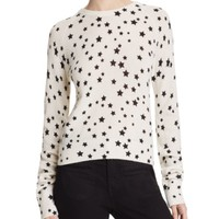 Kate Moss For Equipment Ryder Star Print Cashmere Sweater | Bloomingdales's