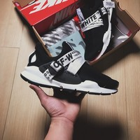 Best Online Sale OFF White x Nike Custom Sock Dart OW Black/White Sport Running Shoes Sneaker  819686-051