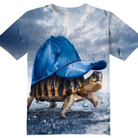 COOL TURTLE TEE SHIRT
