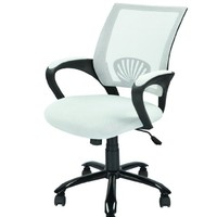 Mid Back Mesh Ergonomic White Computer Desk Office Chair O12