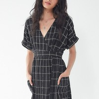 UO Gloria Midi Wrap Dress | Urban Outfitters Canada