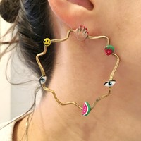 Lakshmi Earrings