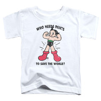 Toddler Astro Boy/Who Needs Parts Short Sleeve