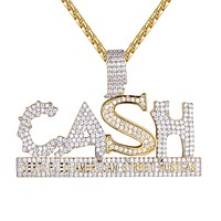 Custom Cash Money American Street Hustlers Hip Hop Pendant