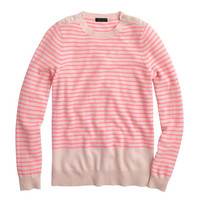 Collection cashmere shoulder-button sweater
