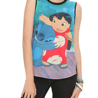 Disney Lilo & Stitch Sandwich Girls Muscle Top