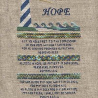 Hope Sampler Cross Stitch Pattern by AStitchAndAPrayer on Zibbet