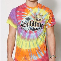 Tie Dye Sublime T Shirt - Spencer's