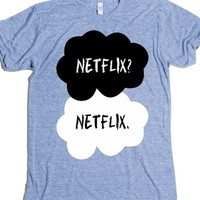 Athletic Blue T-Shirt | Funny Netflix Shirts