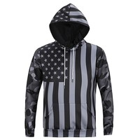 Hoodies Plus Size Men Hats Print Stylish Casual Men's Fashion Jacket [10669403587]