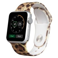 Leopard Silicon iWatch Band