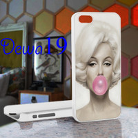 Marylin monroe bubble For iPhone 4/4S, iPhone 5 / iPhone 5S / iPhone 5c and Samsung Galaxy S3/S4 Case/Cover