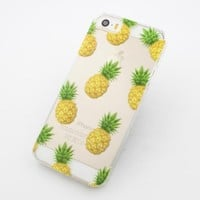 Plastic Case Cover for iPhone 5 5S 5C 6 6Plus (Pick One) Pineapple Overload summer psych fruit love hipster