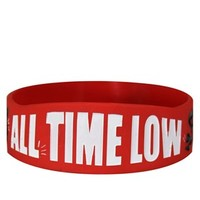 All Time Low A Love Like War Logo Wristband - Buy Online at Grindstore.com