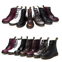 Genuine Leather Dr. Martin Boots for Men and Women