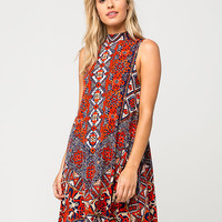 ANGIE Scarf Medallion Dress | Short Dresses