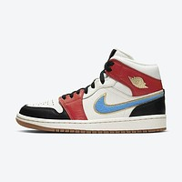 Air Jordan 1 Mid Mid-top Casual Board Shoes Basketball Shoes