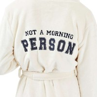Topshop Not a Morning Person Hooded Robe | Nordstrom