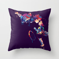 Ponyo Throw Pillow by Lauramaahs