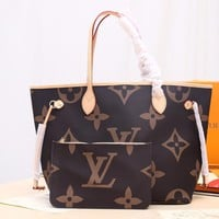 DCCK Lv Louis Vuitton Fashion Women Men Gb2965 M40995 Monogram Aircraft Business Bags Neverfull Mm 32x29x17cm