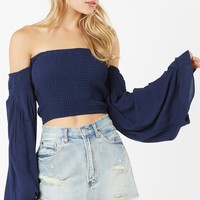 With The Flow Crop Top