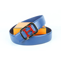 Hermes belt men's and women's casual casual style H letter fashion belt147