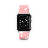 I liked this design on #Fab. Flamingo Apple Watch Strap
