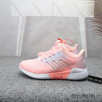 HCXX A866 Adidas 2019 Boost Breathable Sports Casual Running Shoes Pink