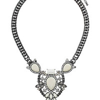 Flower Drop Necklace - Jewelry  - Bags & Accessories