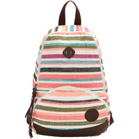 Roxy Great Outdoors Multicolor Stripes Backpack - Women's