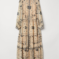 H&M Crinkled Long Dress $69.99