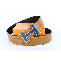 Hermes belt men's and women's casual casual style H letter fashion belt392