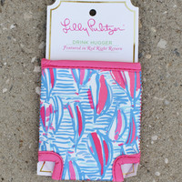 Lilly Pulitzer Koozie - Red Right Return