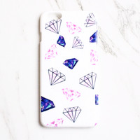Diamond Print iPhone Case