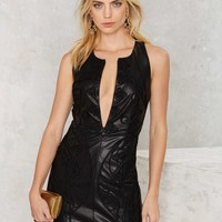 Nasty Gal Through and Through Embroidered Dress