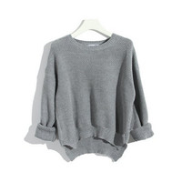 Candy Color Leisure Mesh Jumper for Girls