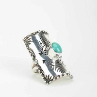 Spell & The Gypsy Collective Turquoise Finger Shield Ring- Turquoise 7