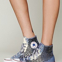 Converse  Bobbi Bleached Chucks at Free People Clothing Boutique