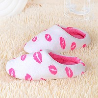 Women's Slippers / Girls' Slippers Guest Slippers / House Slippers Casual Faux Fur solid color Shoes