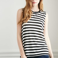 Striped Muscle Tee | Forever 21 - 2000076814