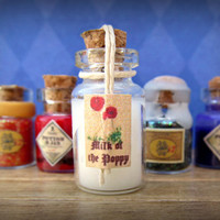 """A Game of Thrones """"Milk of the Poppy"""" Potion Bottle: Geekery from the Seven Kingdoms in Dollhouse Miniature"""
