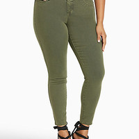 Torrid Jeggings - Olive Wash