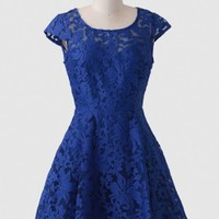 A Magical Night Embroidered Dress
