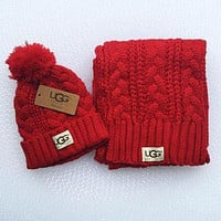 UGG men and women winter knit fashion hats & scarves