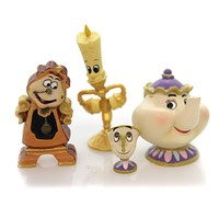 Disney LUMIERE COGSWORTH MRS. POTTS & CHIP Disney Showcase Collection 4060076