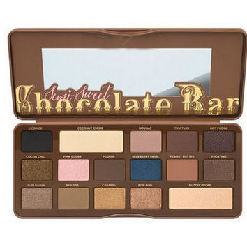 Stock Brand new eye shadow palette chocolate bar maquiagem, 16 basics shadow color eye shadow makeup pigment for free shipping
